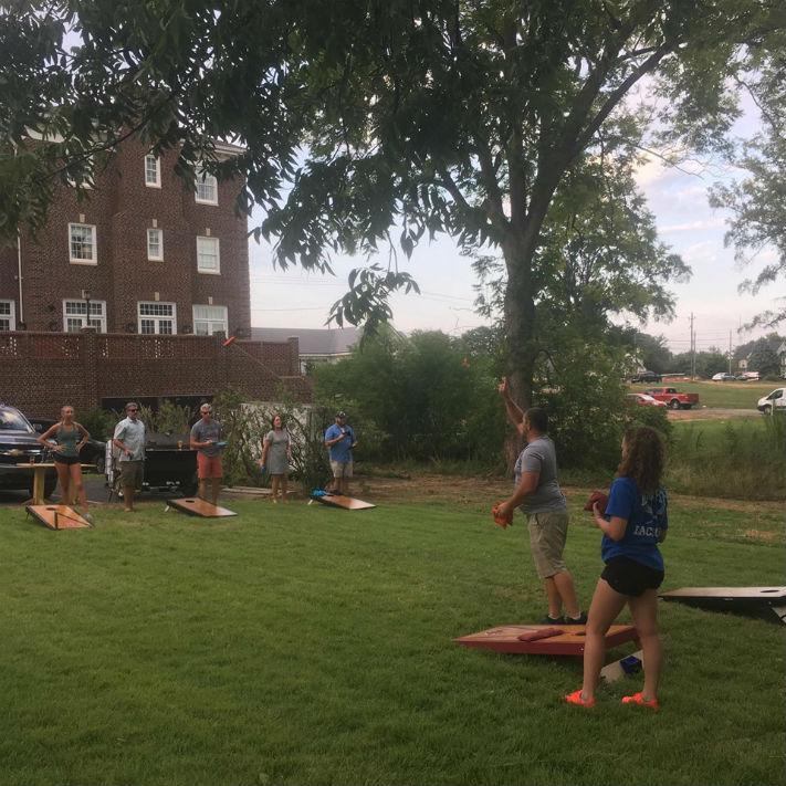 Cornhole Tournament Players